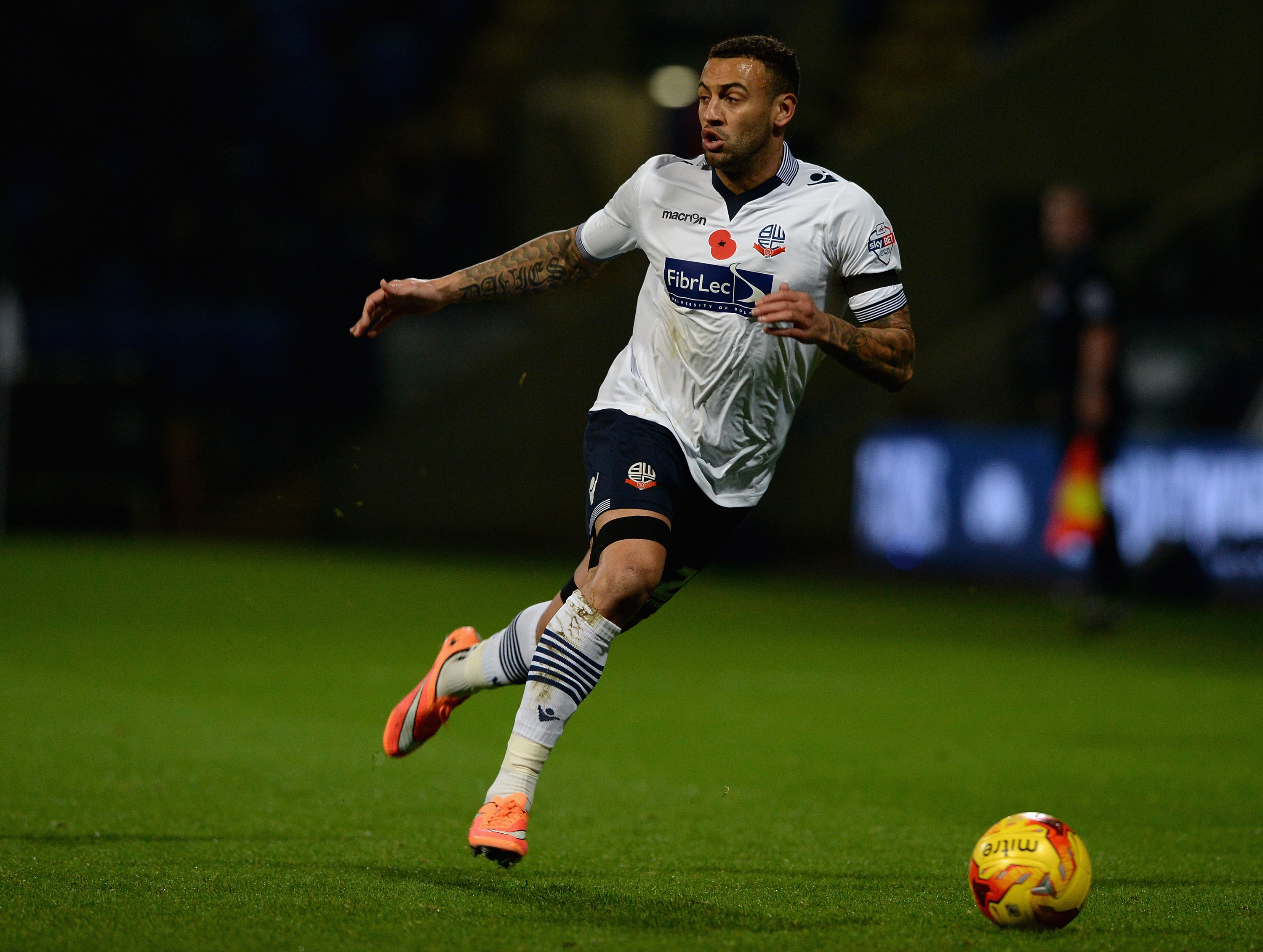 Craig Davies has been joined on Bolton's injury list by strike partner Max Clayton