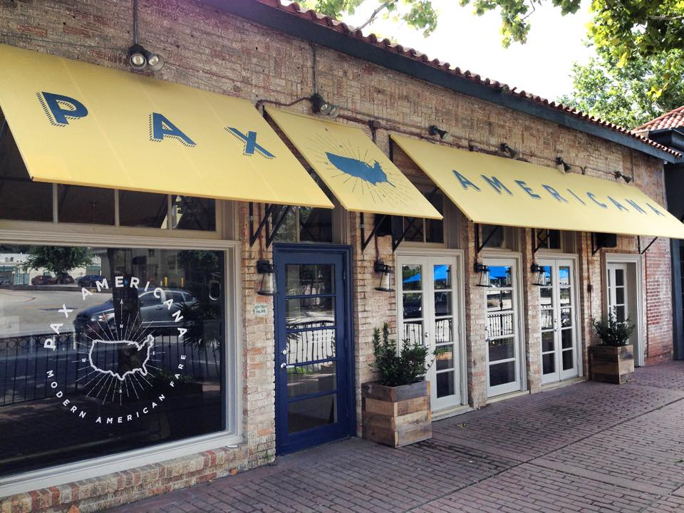 Pax Americana is Houston Press' Best New Restaurant of 2014.
