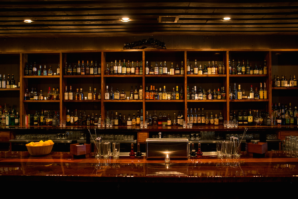 Whiskey bar Barrel Proof