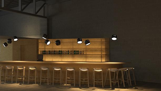 Cafe 78 rendering.