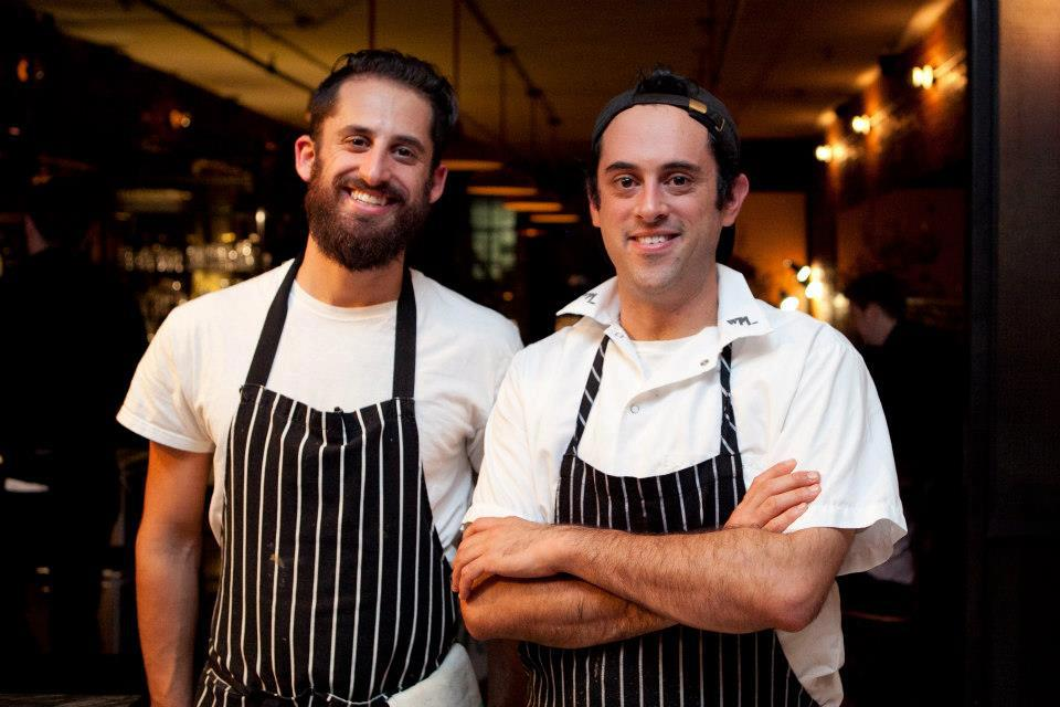 Chefs Eli Sussman and Max Sussman.
