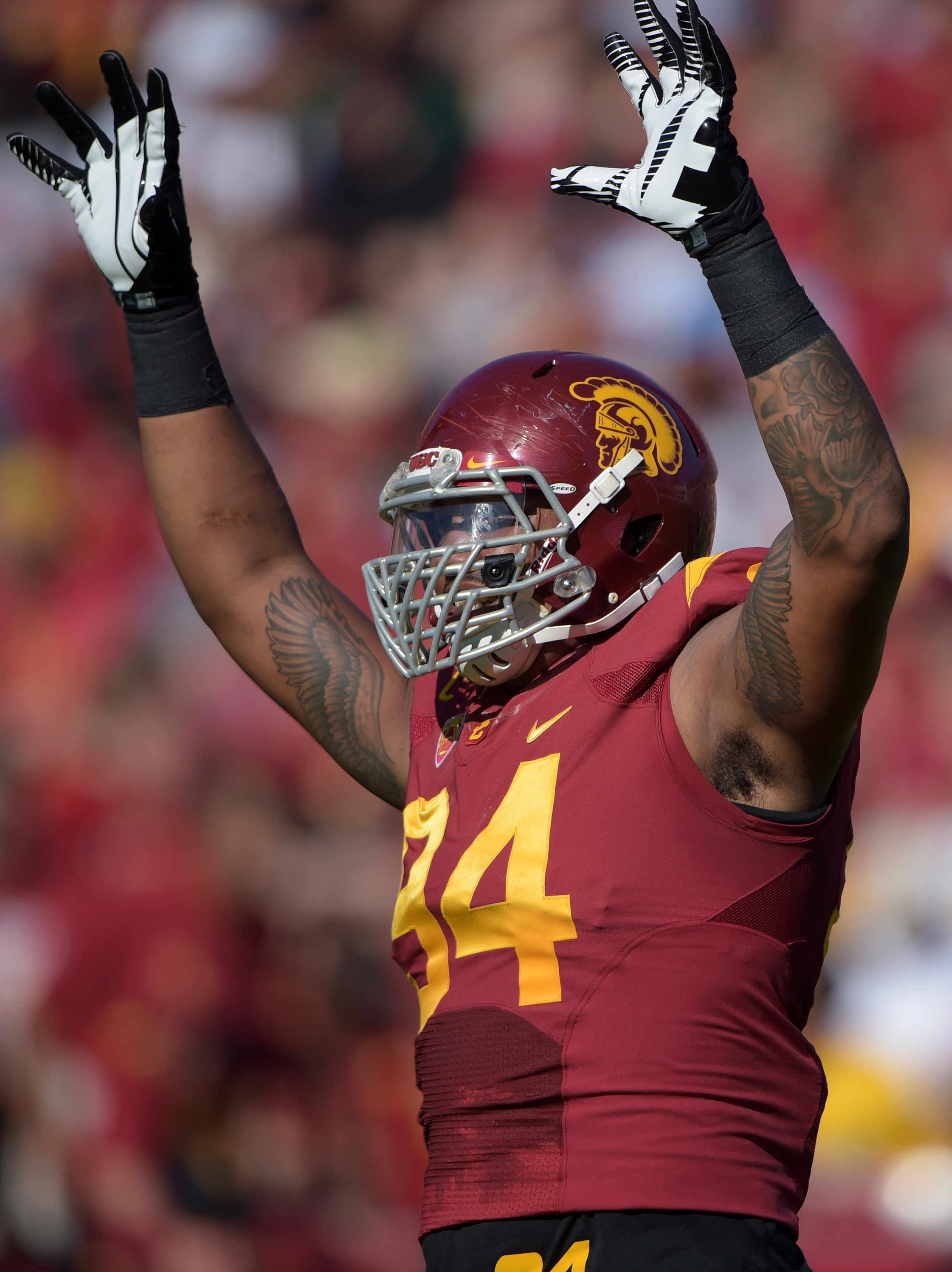 Leonard Williams will make his decision after the Holiday Bowl.