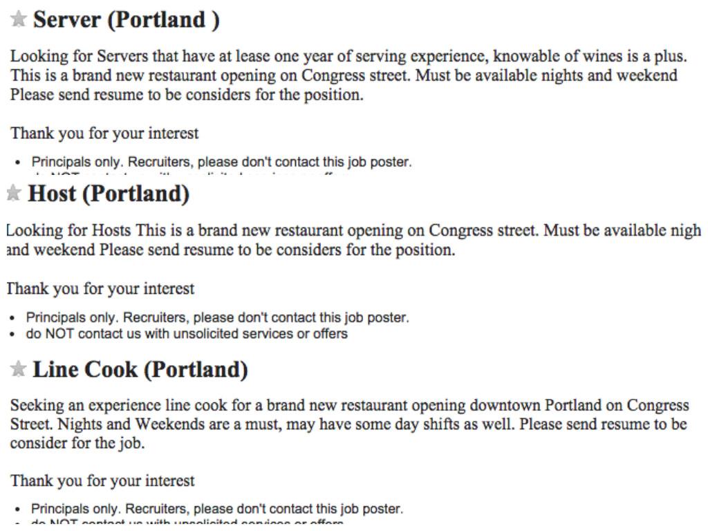 Portland Wanted Craigslist - fuel-economy info