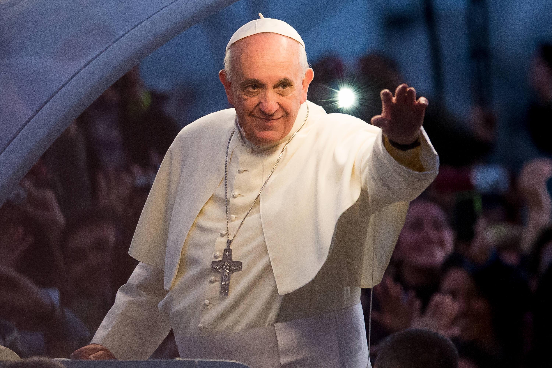 Pope Francis in Brazil in 2013