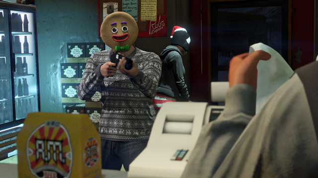 GTA Online now features adorable snowball fights and ugly sweater 'parties'