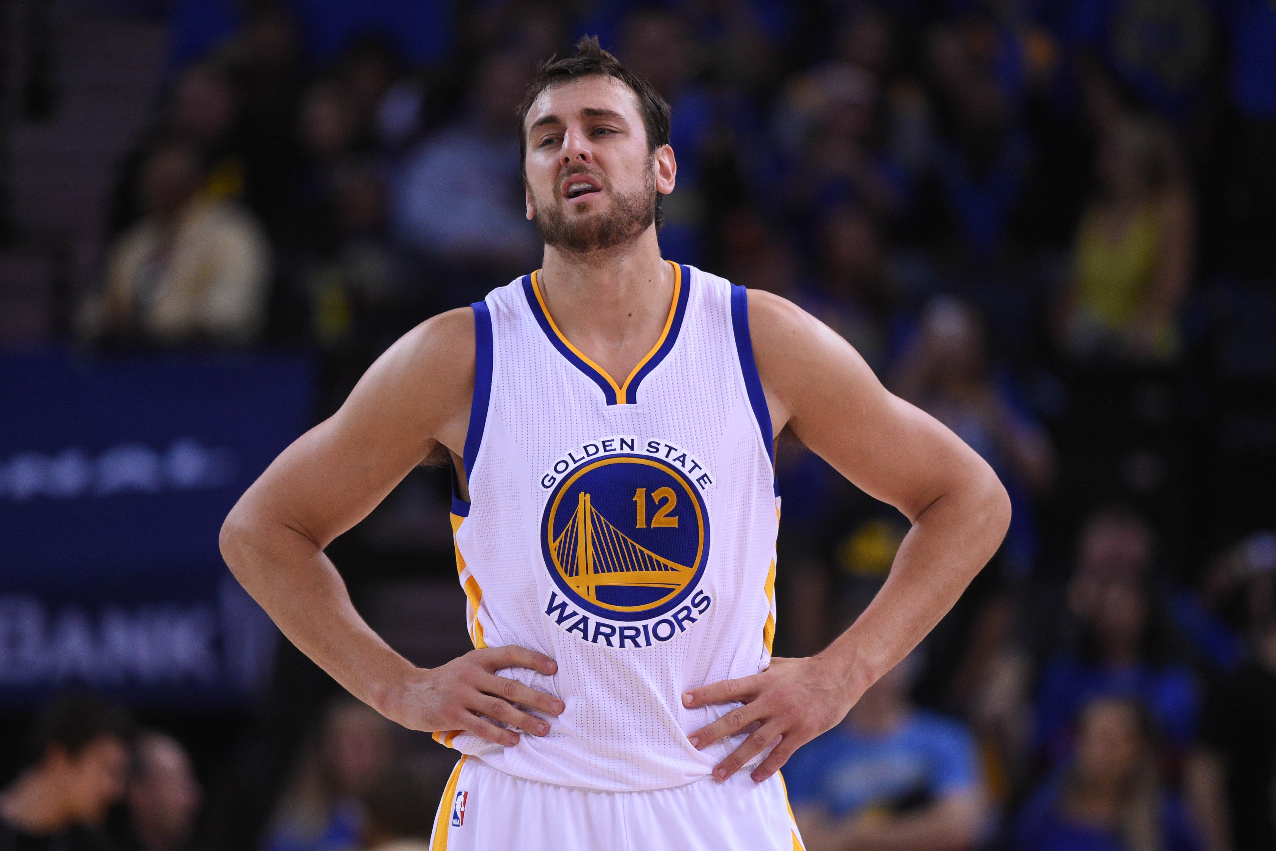 Andrew Bogut out indefinitely with injured knee