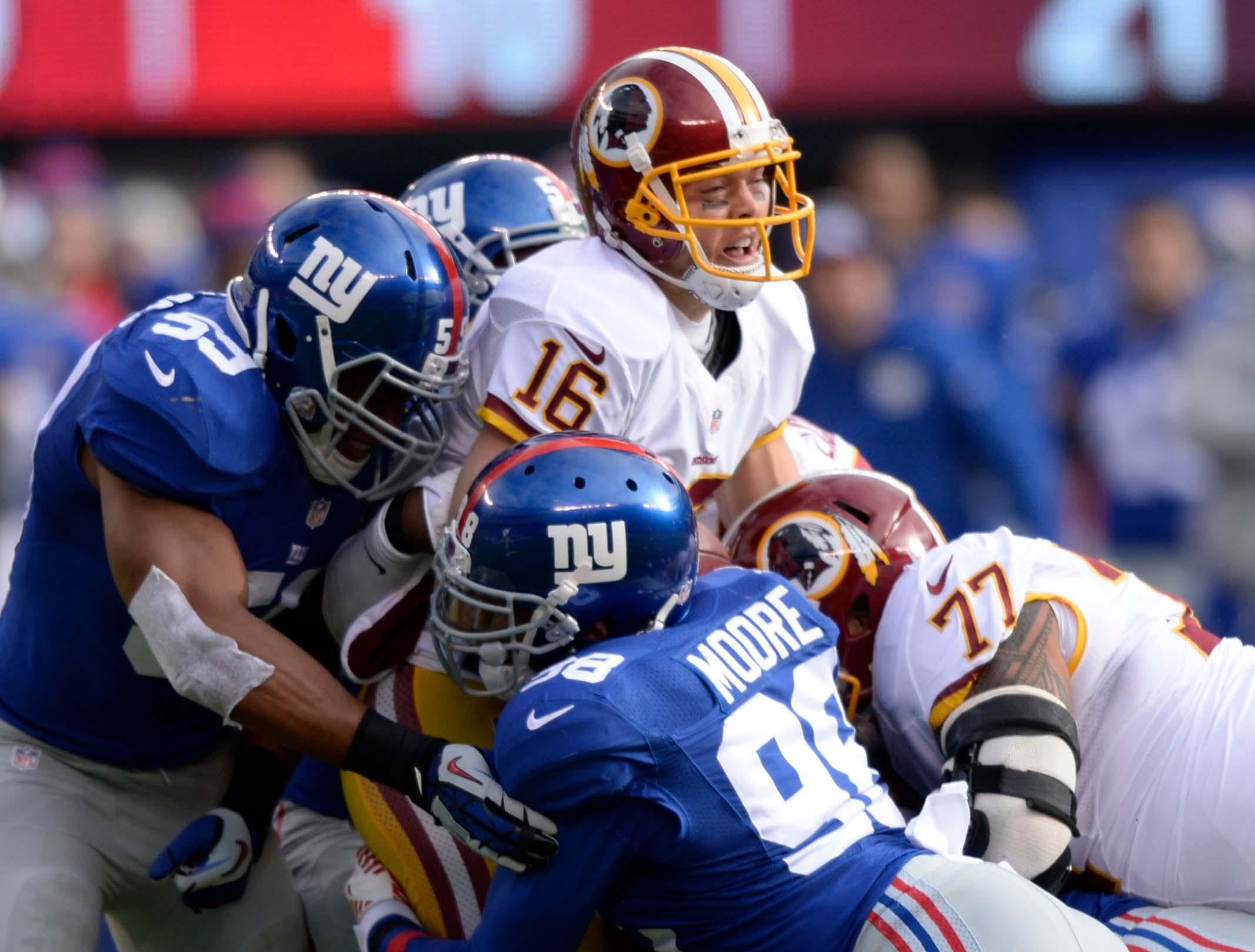 Can the Giants continue terrorizing opposing quarterbacks?