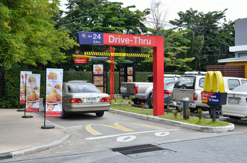 Drunk Woman Arrested for Falling Asleep in McDonald's Drive-Thru Line