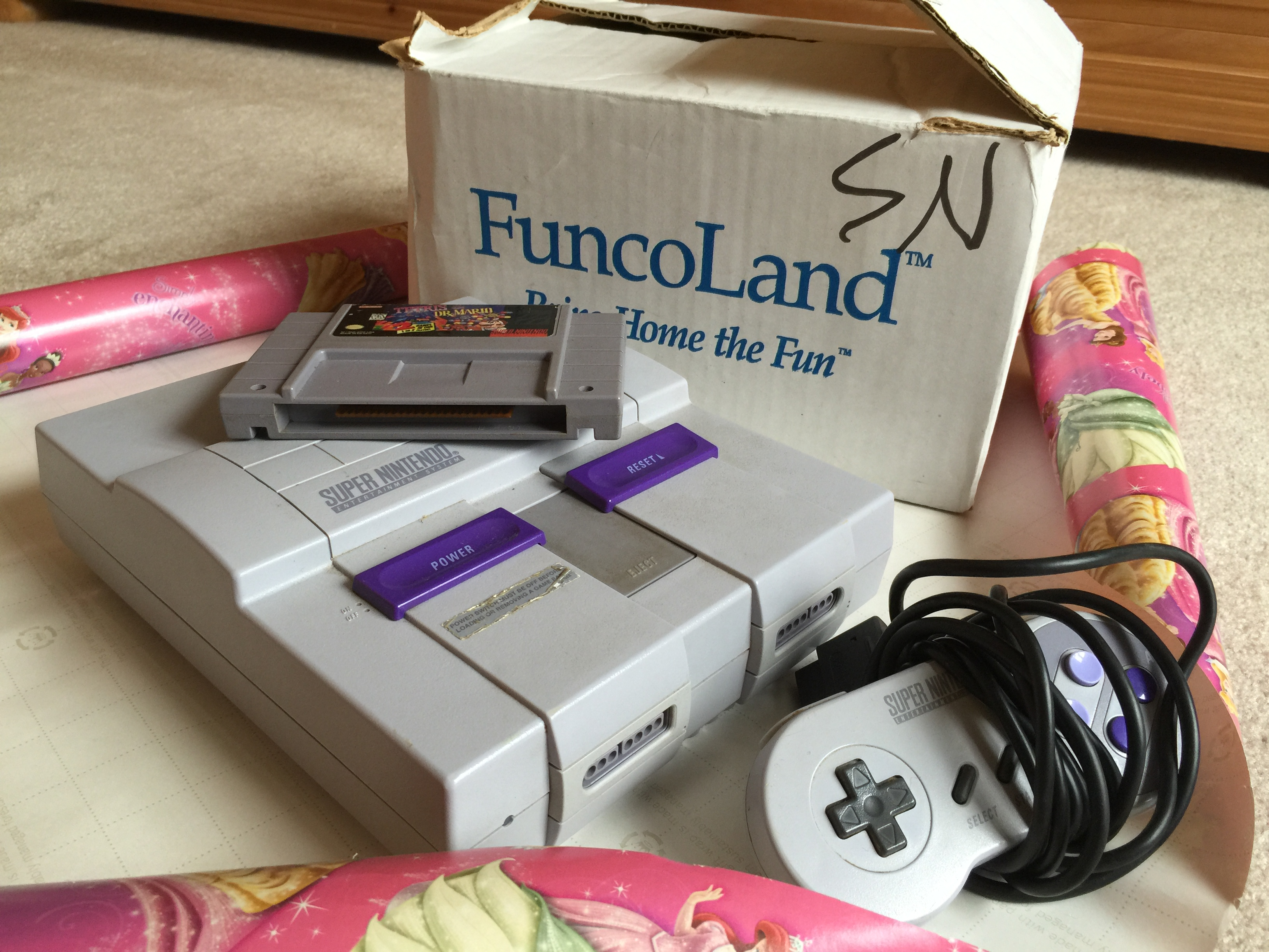 My uncle's secret SNES is about to become a family heirloom