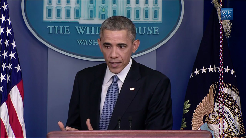 Obama says Sony shouldn't have pulled The Interview, promises 'response' to North Korea