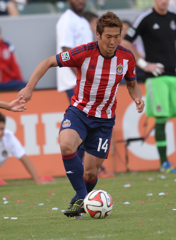 Kaji with Chivas USA in 2014.