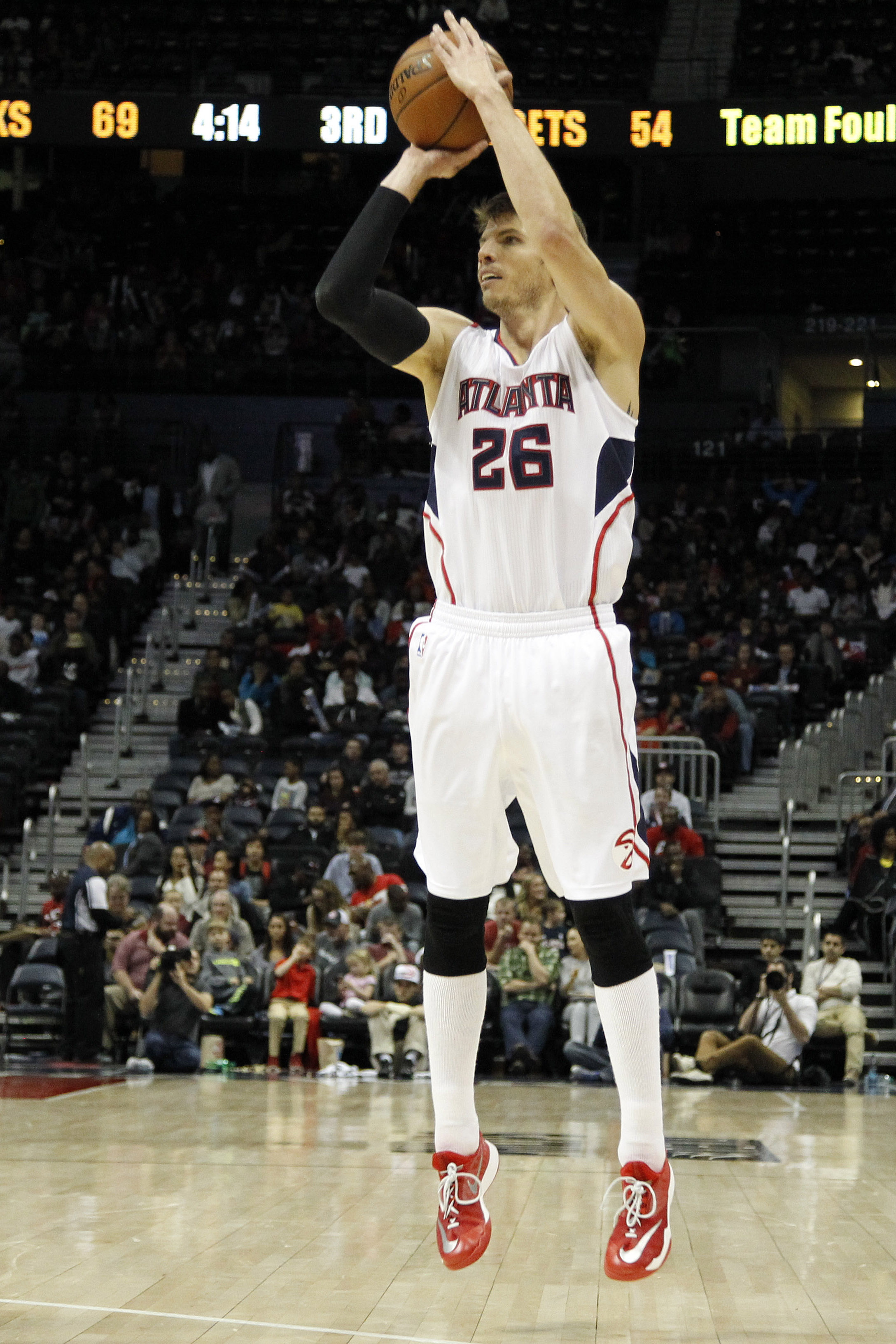 Kyle Korver is on fire, and so are the Atlanta Hawks