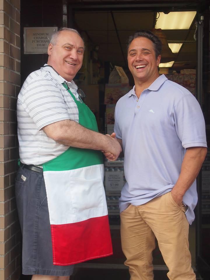 Giancarlo Sessa (left) and Giovanni Maione