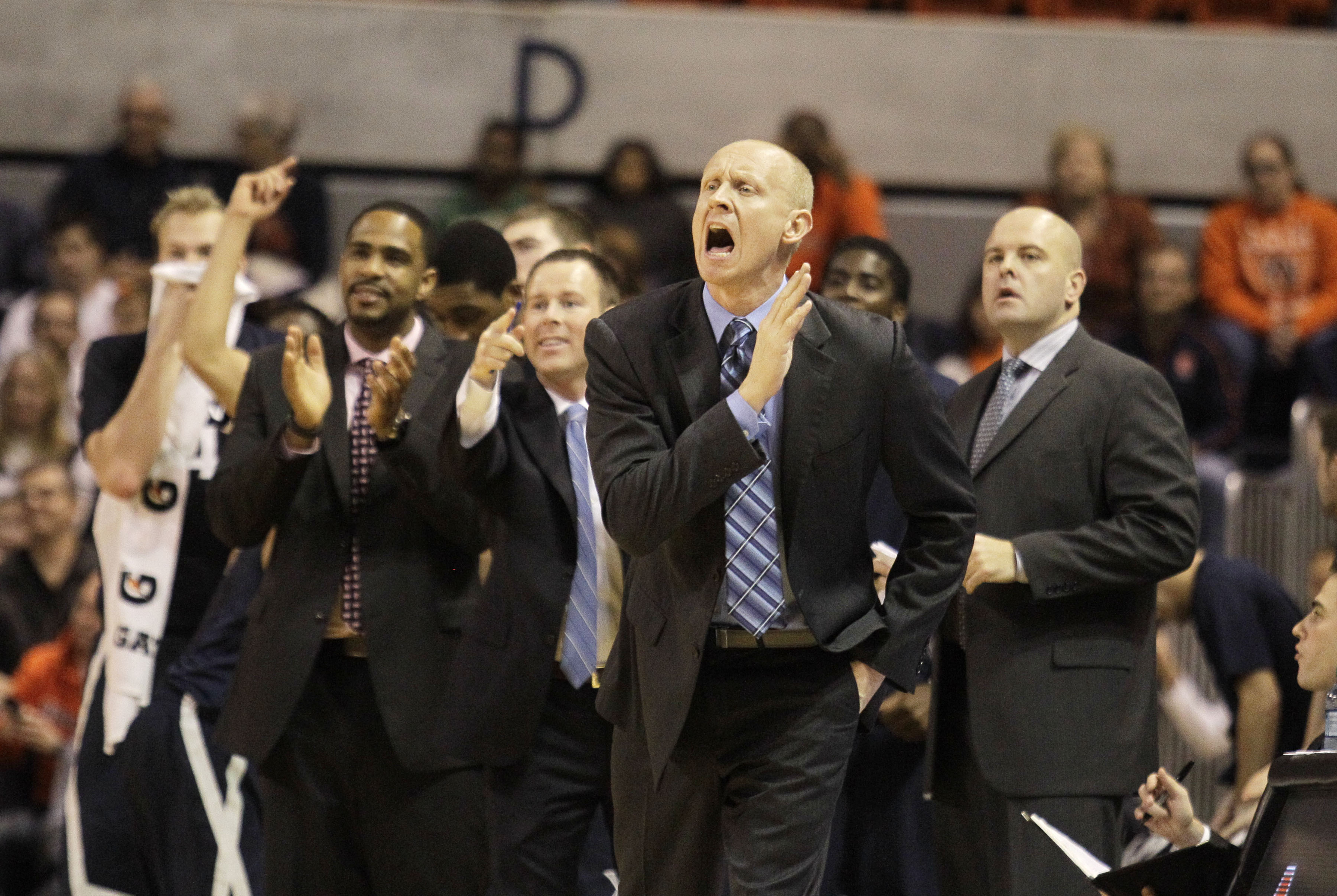 Coach Mack reacts to another no-show in the polls.