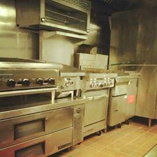 Zeke's R & R Barbecue kitchen.
