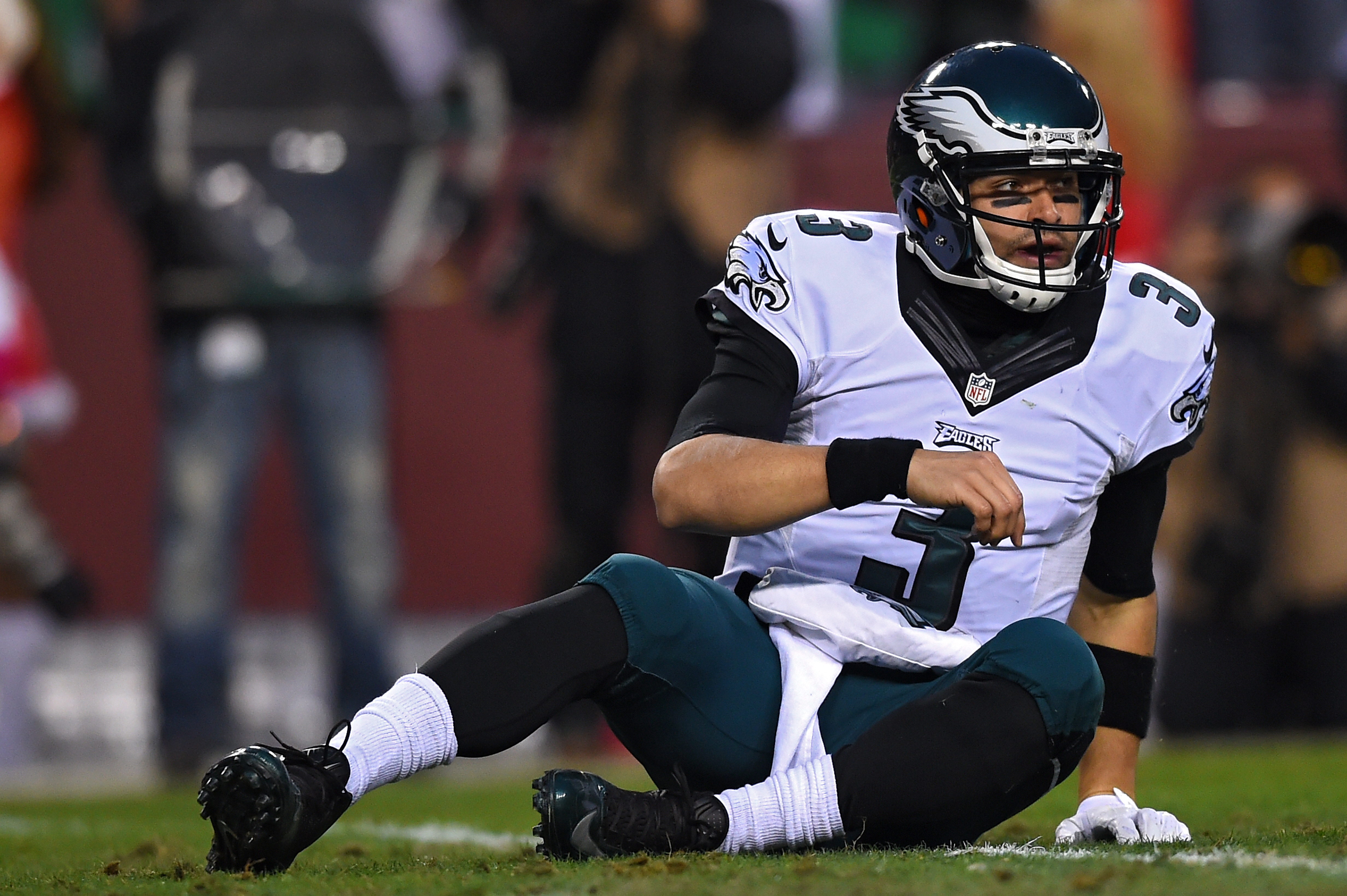 Things haven't turned out the way Mark Sanchez and the Eagles hoped they would this season