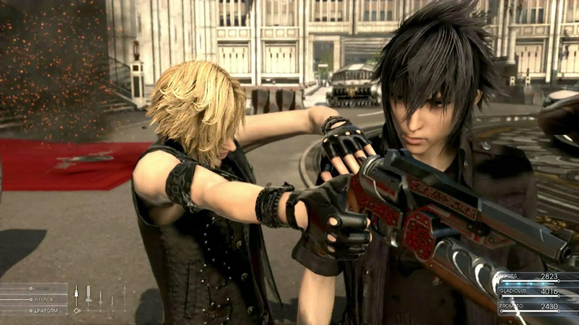 Final Fantasy 15 will feature party attacks, summons for Noctis