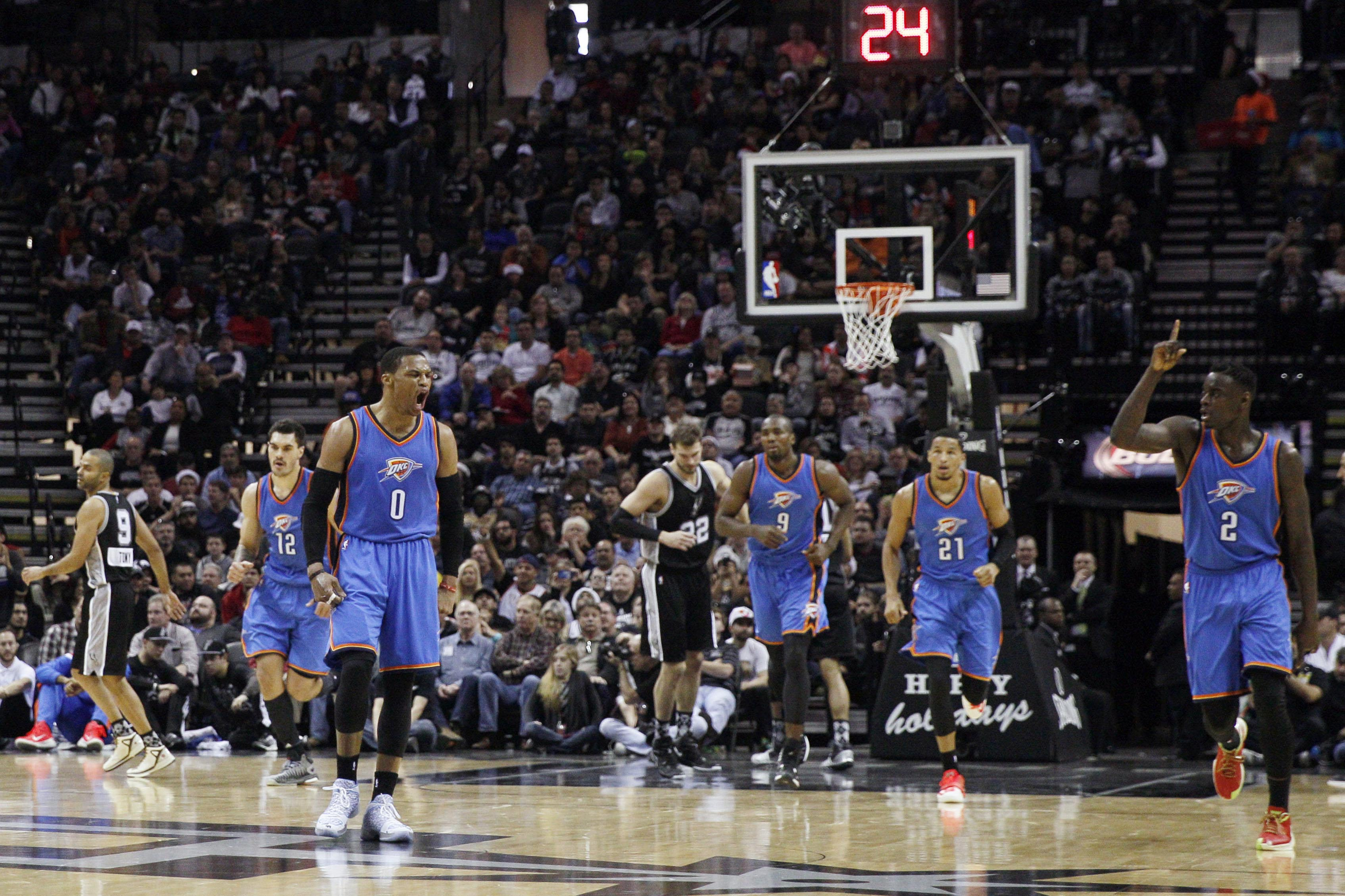 Spurs vs. Thunder final score: Russell Westbrook dominates, the Thunder beat the Spurs, 114-106