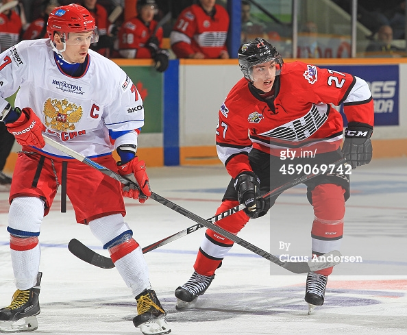 Rafikov wore the C for Russia during the Subway Super Series.