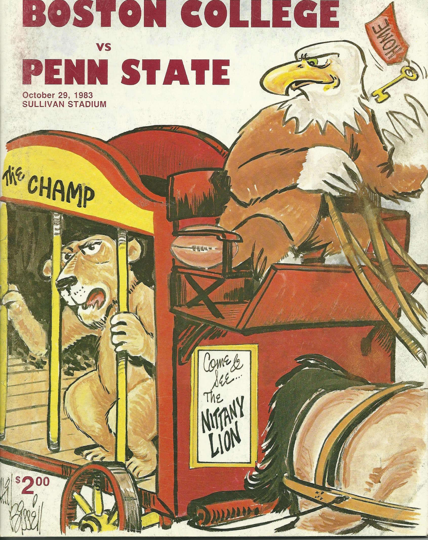 Eagles first ever win over Penn State