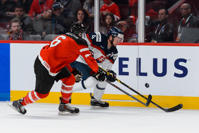Canada easily won against Slovakia