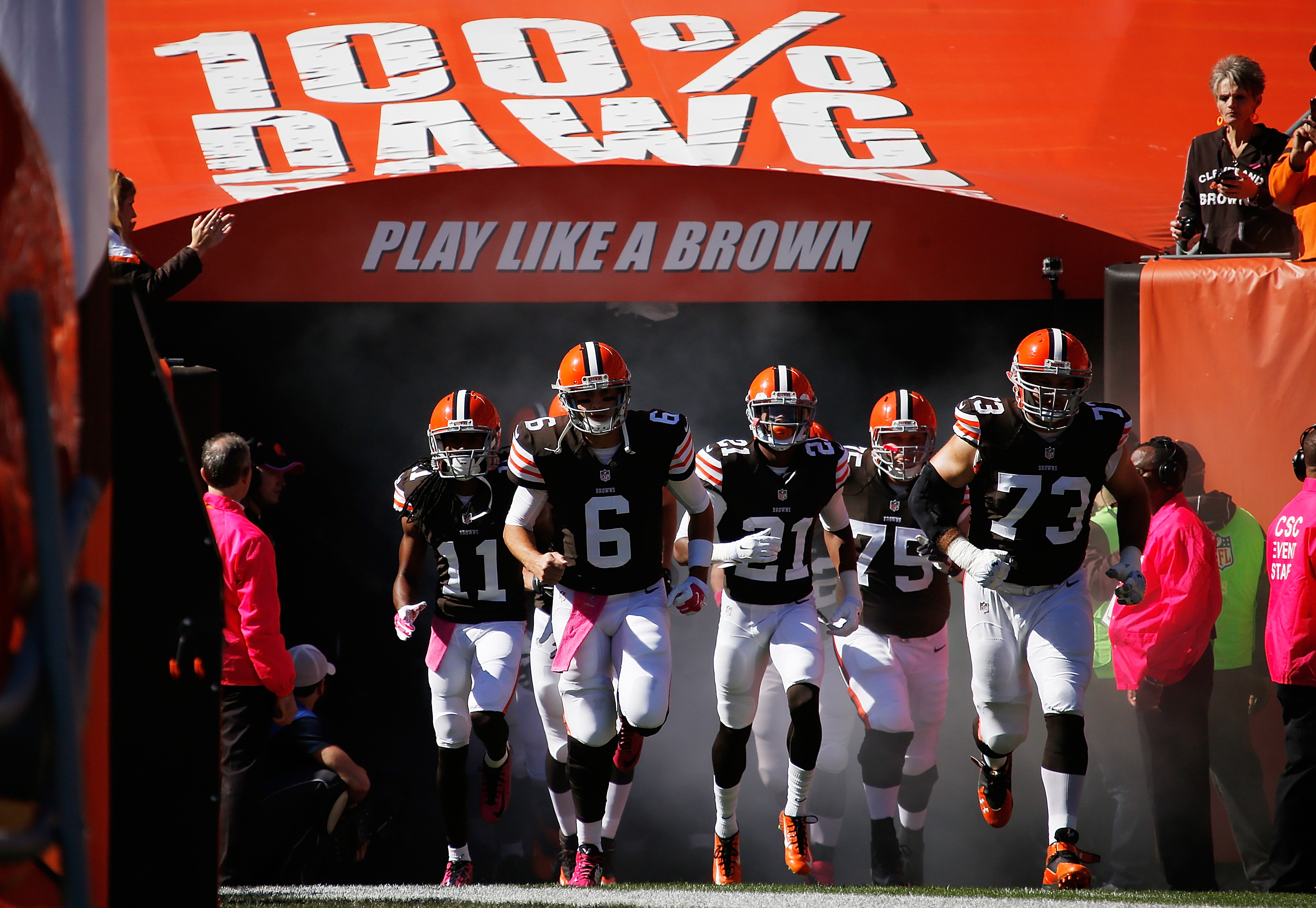 Here's to hoping Cleveland's players do NOT play like Browns in their Week 17 game against the Baltimore Ravens