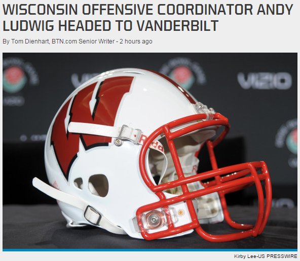 We couldn't find a picture of Andy Ludwig. Apparently BTN.com couldn't either.