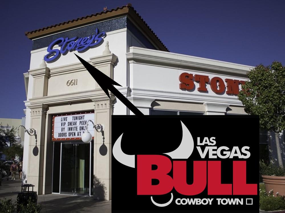 Las Vegas Bull Cowboy Town