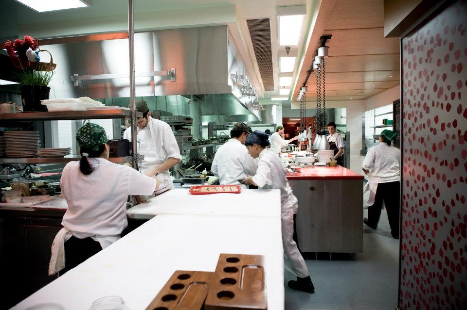 The kitchen at Toqué!
