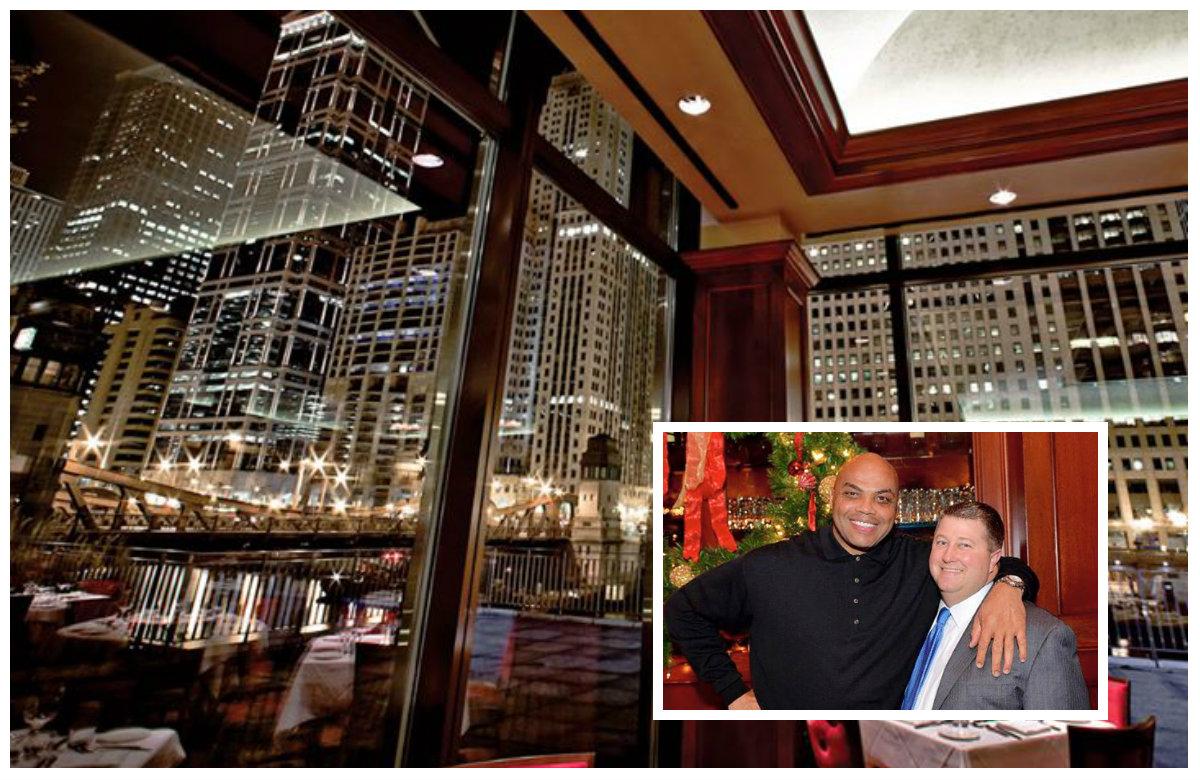 Chicago Cut Steakhouse / Charles Barkley / David Flom