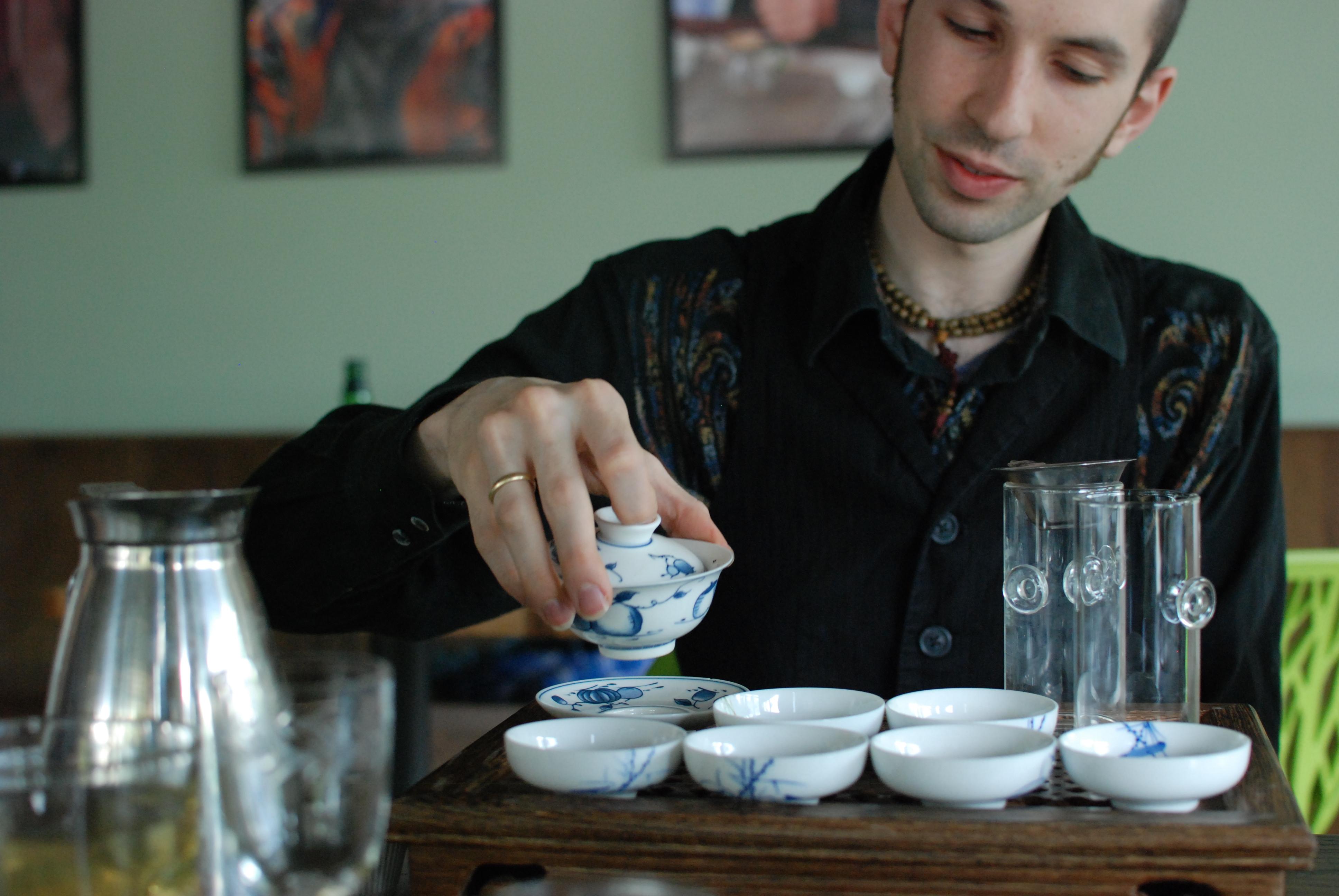 Verdant Tea's David Duckler