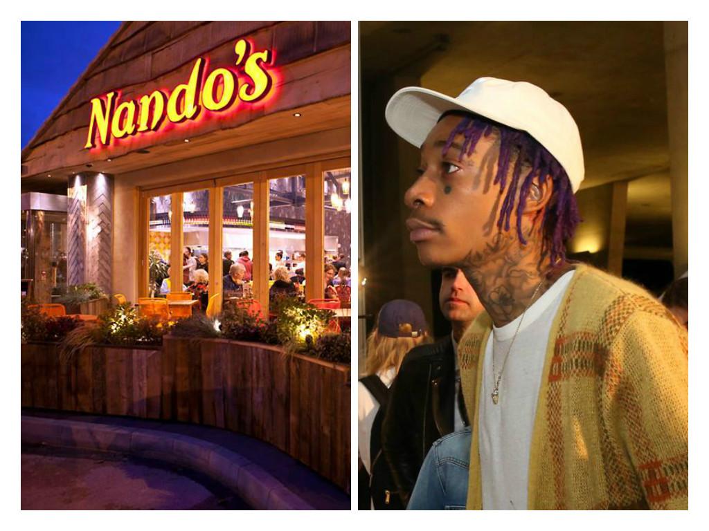 Wiz Khalifa is apparently a big Nando's fan.