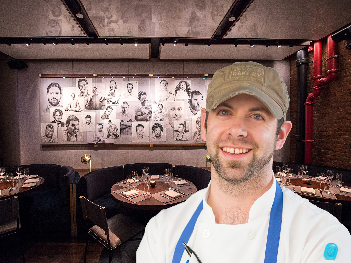 Matt Aita by Nick Solares, Chef's Club by Krieger.