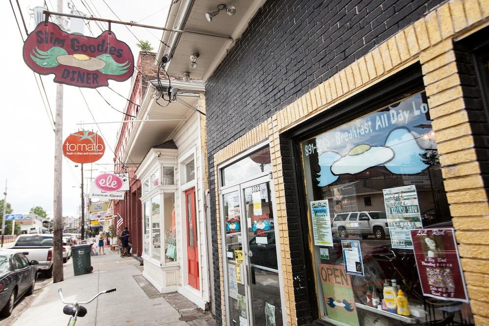 Magazine Street, still a dining hub