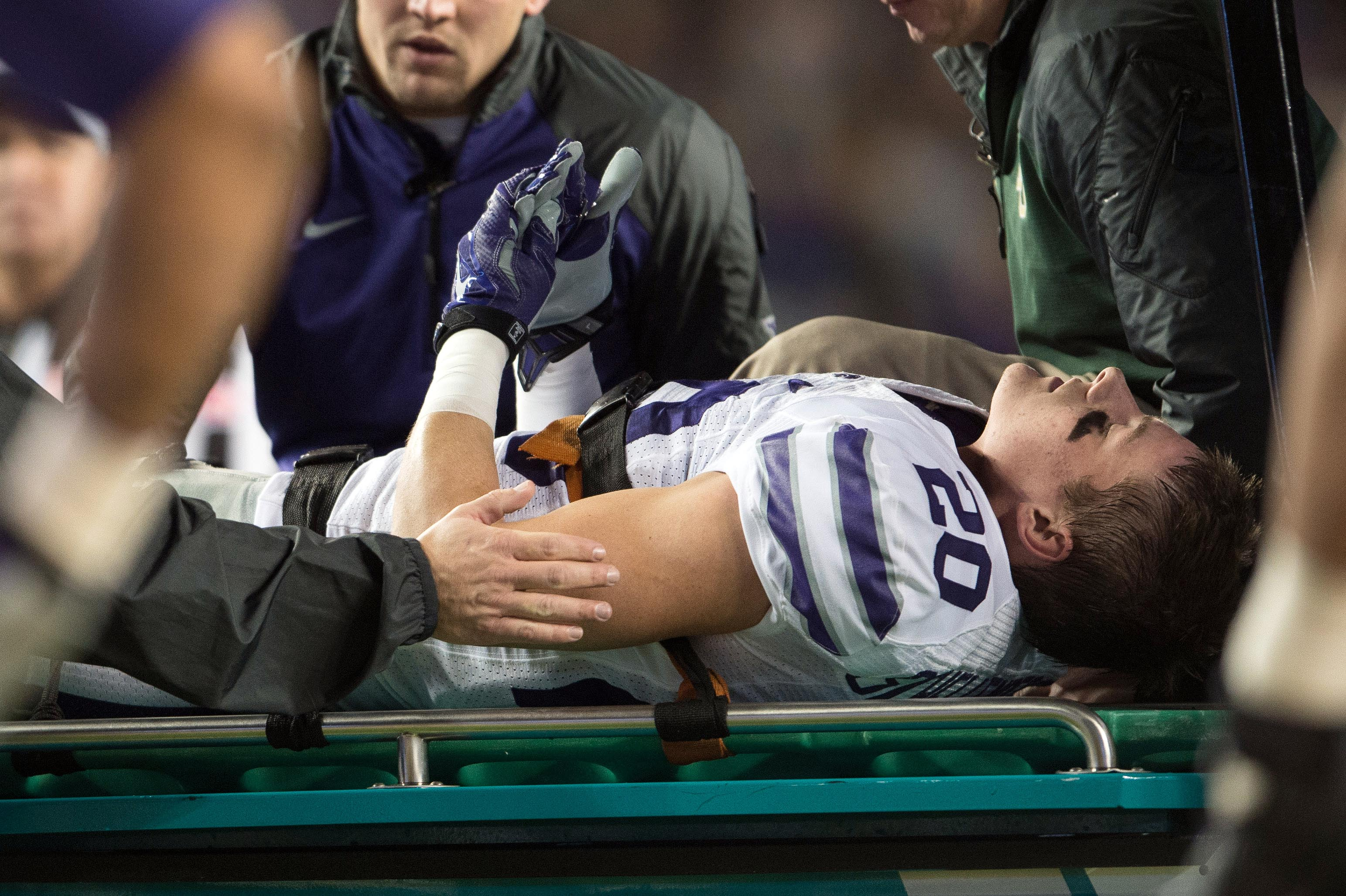 An unfortunate season ending leg injury to Dylan Schellenberg means Baylor was his last game.