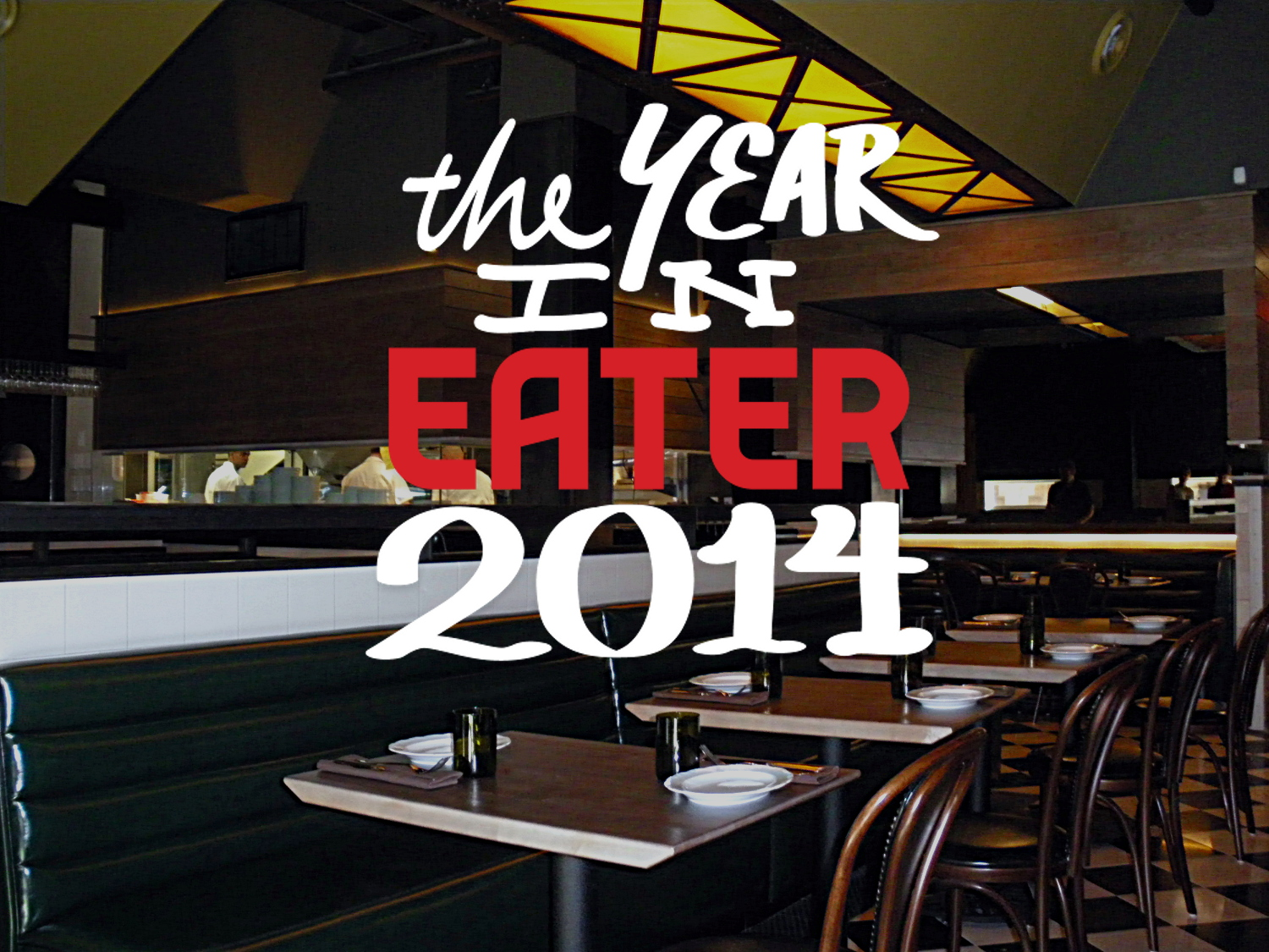 The gefilte fish at Abe Fisher took us all by surprise this year.