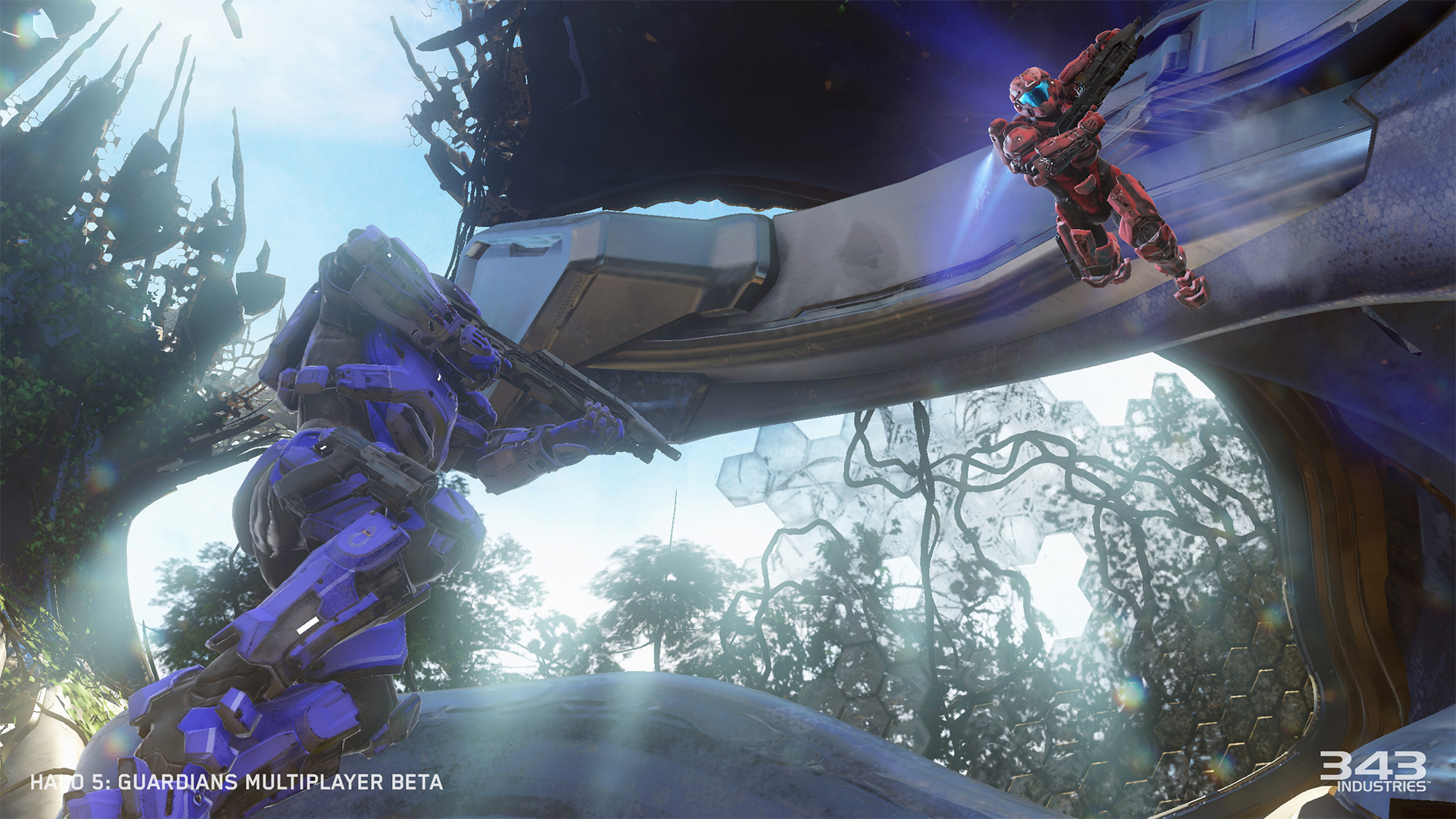 New maps and a new weapon come to the Halo 5 beta