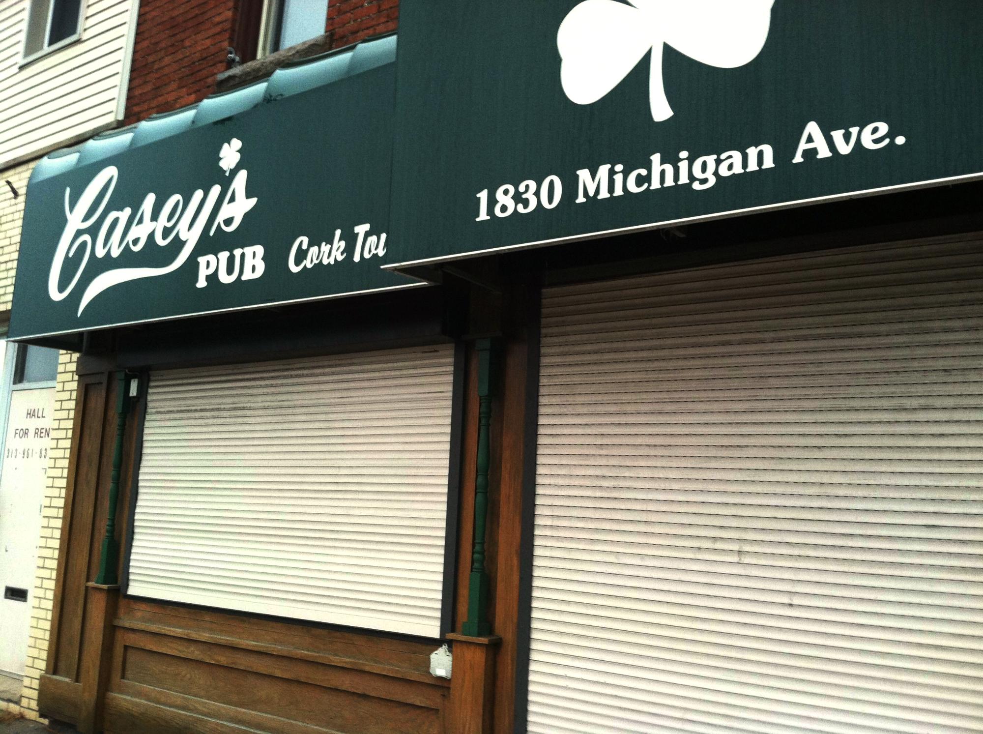 Casey's Pub.