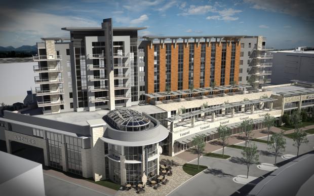 Rendering of Archer Hotel Austin