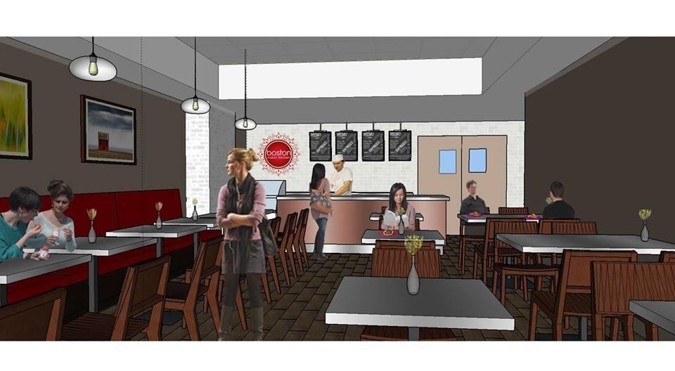 Boston Indian Kitchen rendering