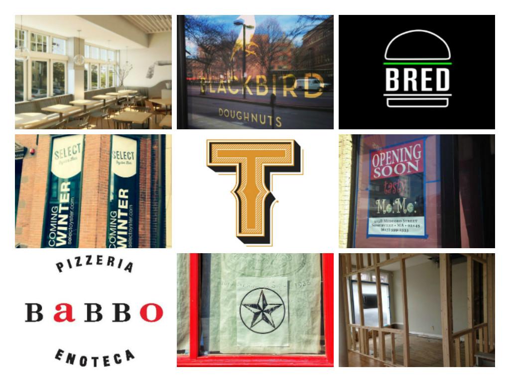 Tracking Winter 2015 Boston Restaurant Openings