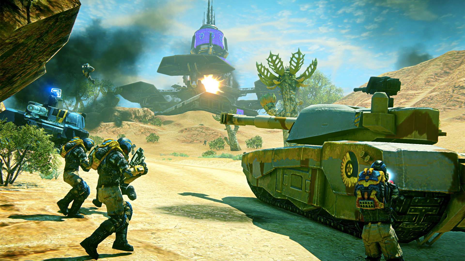 PlanetSide 2 comes to PS4 in closed beta later this month