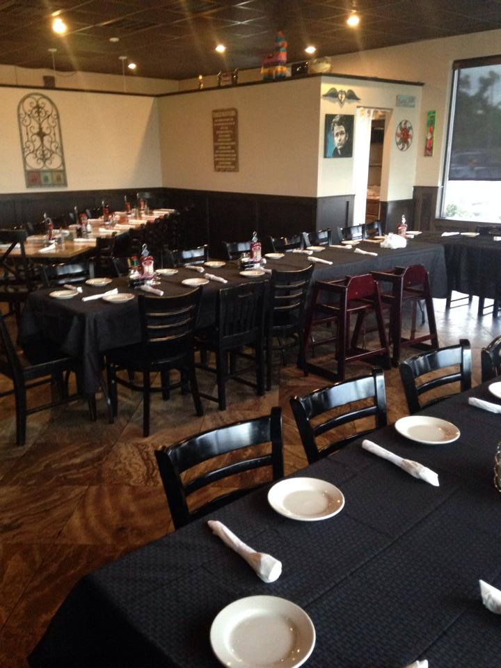 The dining room at Crave in St. Bernard Parish
