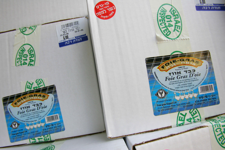 Foie Gras in Boxes