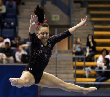 Utah gymnast Corrie Lothrop returns to the defending Pac-12 champion Red Rocks for her senior year.