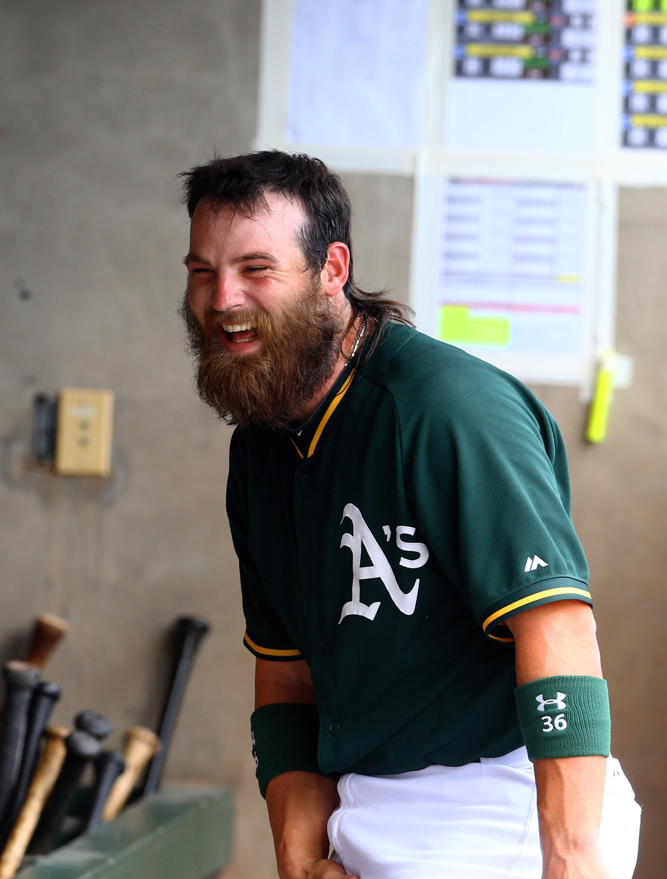 """""""I got sent to San Diego too?!"""" - C Derek Norris"""