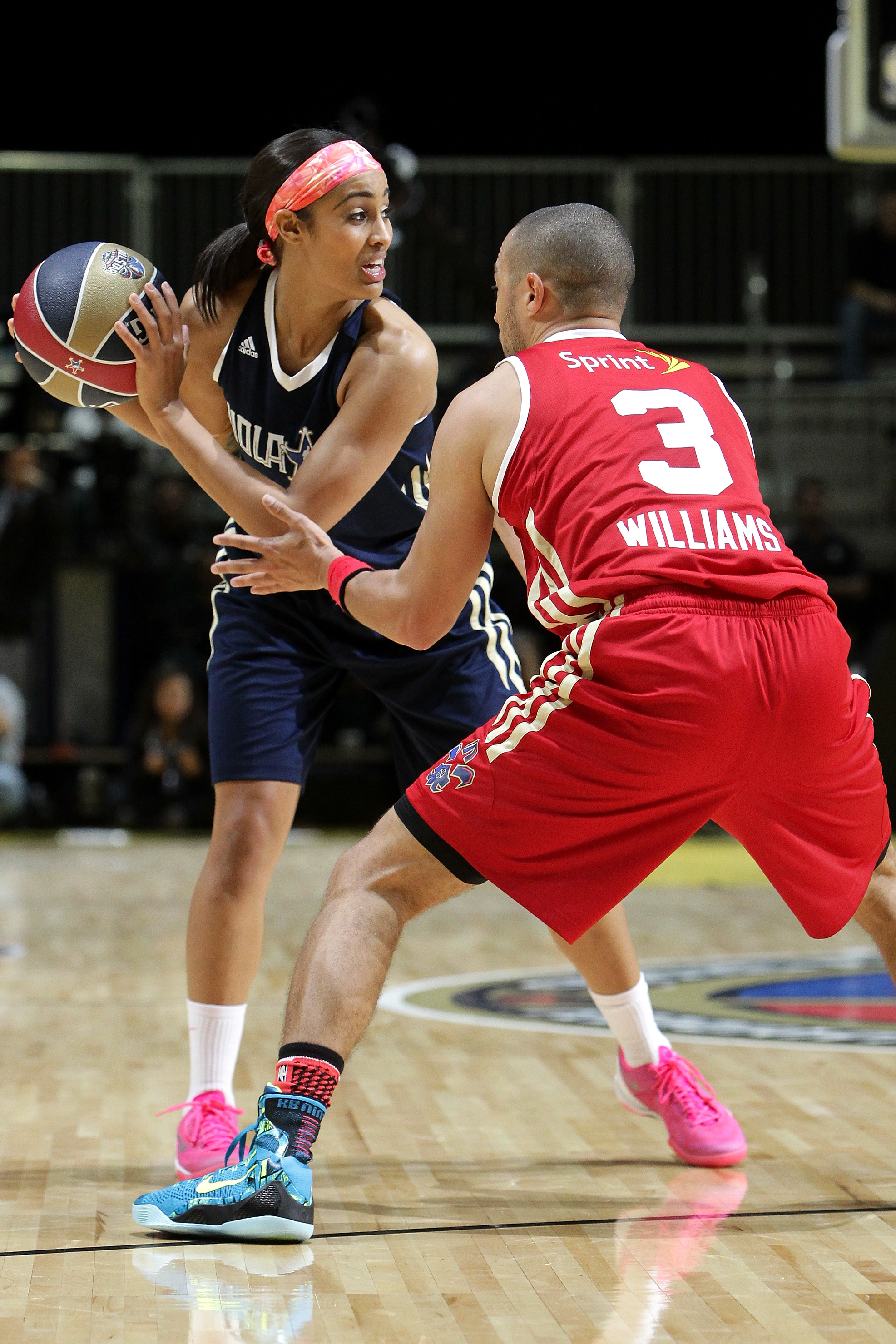 I don't mind seeing WNBA players in a celebrity game, but they could be used in other events too, because, let's be honest. Skylar Diggins will eat Jesse Williams alive any day in basketball.