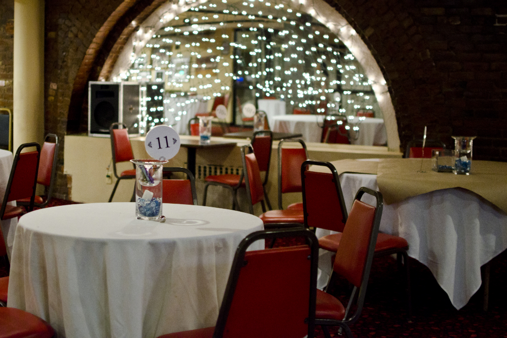The lounge at Cuisine en Locale