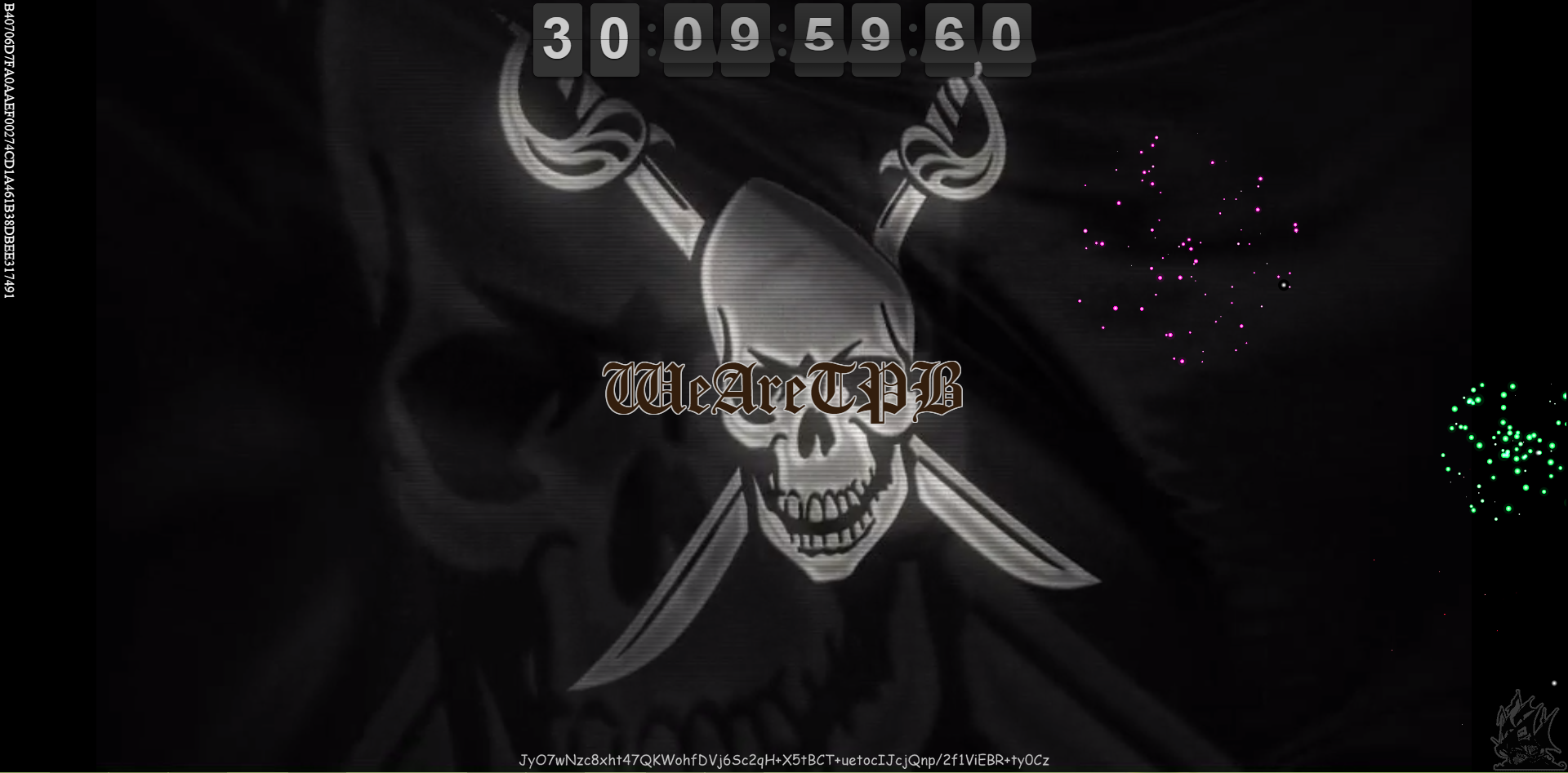 Cracked Pirate Bay mystery code says, 'I'll be back'