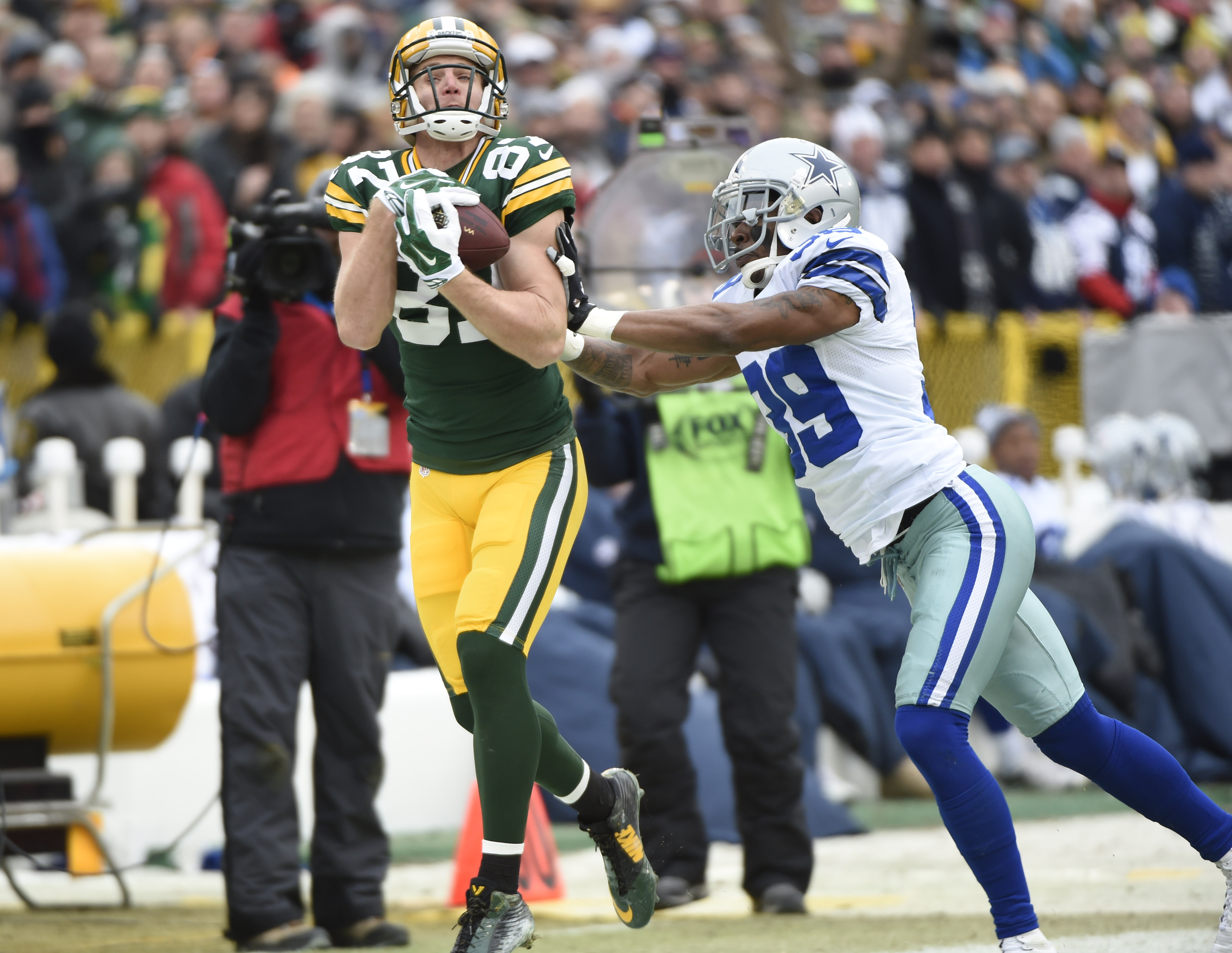 Arthur Brown didn't play, so highlighting Jordy Nelson this week was a no-brainer.